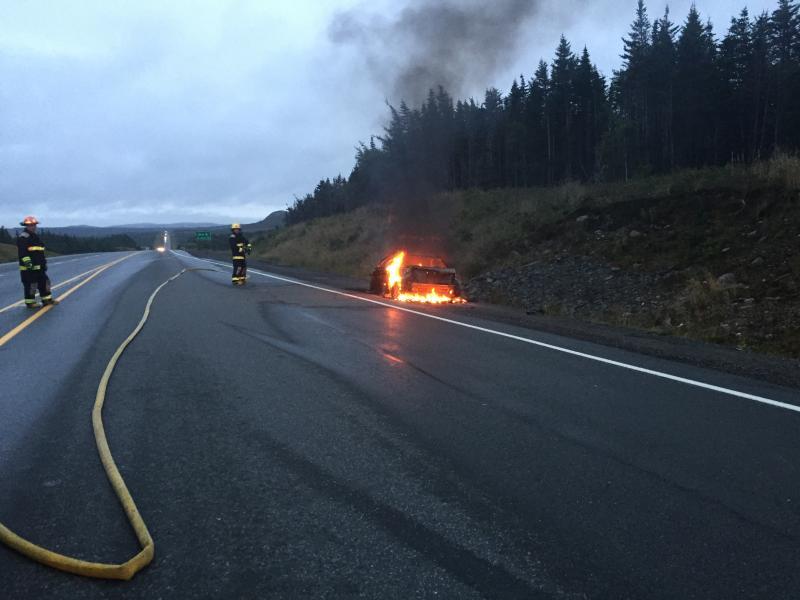 Car Fire TCH September 2016