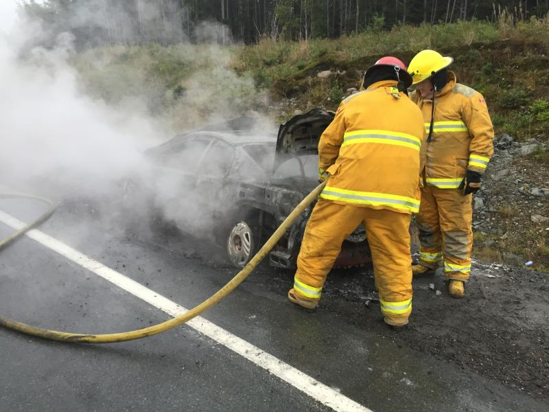 Car Fire TCH September 2016