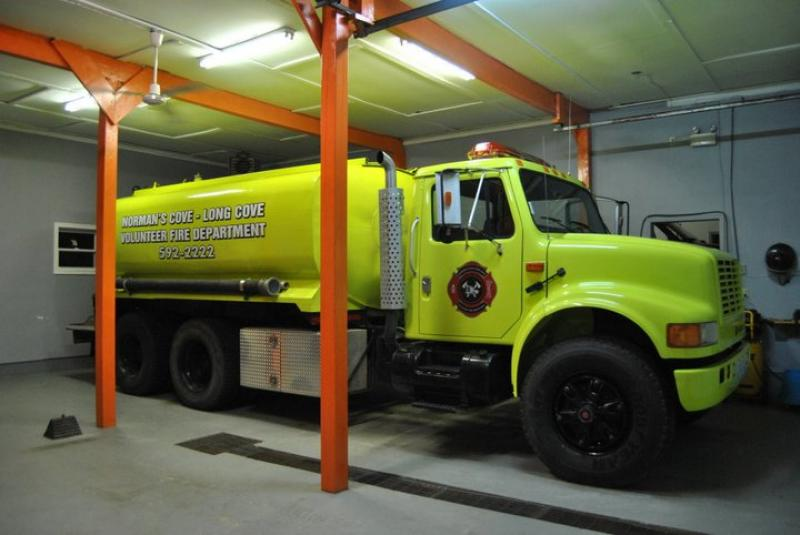 The new Water Tender in service