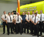 Group Photo with the New Water Tender