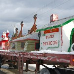 Santa Float - Hauled by Parsons Trucking of Southern Harbour
