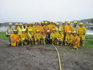 Marine Fire Fighting for Land Based Fire Fighters - Fire School 2013
