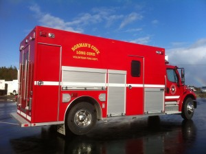 NCLCFD Rescue Truck